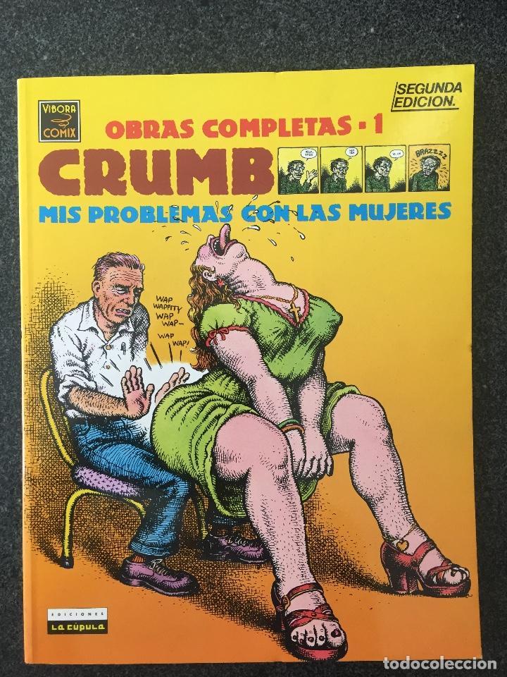 MIS PROBLEMAS CON LAS MUJERES - CRUMB - OBRAS COMPLETAS 1 - 2ª EDICIÓN - LA CÚPULA - 1991 - ¡NUEVO! (Tebeos y Comics - La Cúpula - Comic USA)