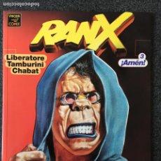 Comics : RANX 3 ¡AMÉN! - RANXEROX - LIBERATORE / TAMBURINI / CHABAT - 1ª EDICIÓN - LA CÚPULA - 2000 - ¡NUEVO!. Lote 220088710