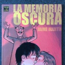 Comics: LA MEMORIA OSCURA - JAIME MARTÍN - 1ª EDICIÓN - LA CÚPULA - 2001 - ¡NUEVO!. Lote 220120312