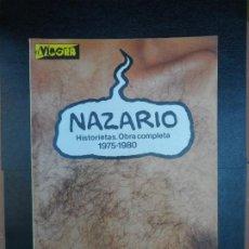 Cómics: NAZARIO HISTORIETAS.OBRA COMPLETA 1975-1980.EL VIBORA EDICIONES LA CUPULA. Lote 220563875