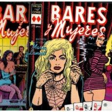 Cómics: BARES Y MUJERES. -COMPLETA 1 Y 2- VÍBORA COMIX.. Lote 220599271