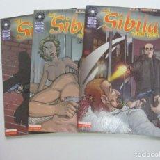Comics: LA SIBILA COMPLETA (3 NUMEROS) - QUIM BOU - FUERA DE SERIE COMIX LA CUPULA CX72. Lote 220600295