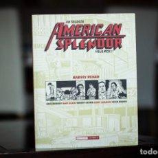 Comics: ANTOLOGÍA AMERICAN SPLENDOR VOLUMEN 1, HARVEY PEKAR, EDICIONES LA CÚPULA - EXCELENTE ESTADO -. Lote 220655006