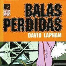 Cómics: BALAS PERDIDAS 4: DIAS NEGROS - DAVID LAPHAM - LA CUPULA - 2006 - RUSTICA - 256 PP. Lote 220702186