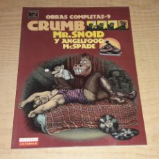 Cómics: ROBERT CRUMB. MR. SNOID Y ANGELFOOD MCSPADE.. Lote 220978290