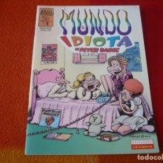 Cómics: MUNDO IDIOTA Nº 7 ( PETER BAGGE ) ¡BUEN ESTADO! LA CUPULA BRUT COMIX. Lote 221124006