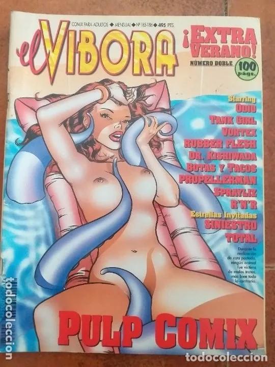 EL VIBORA NUM 185-186 (Tebeos y Comics - La Cúpula - El Víbora)