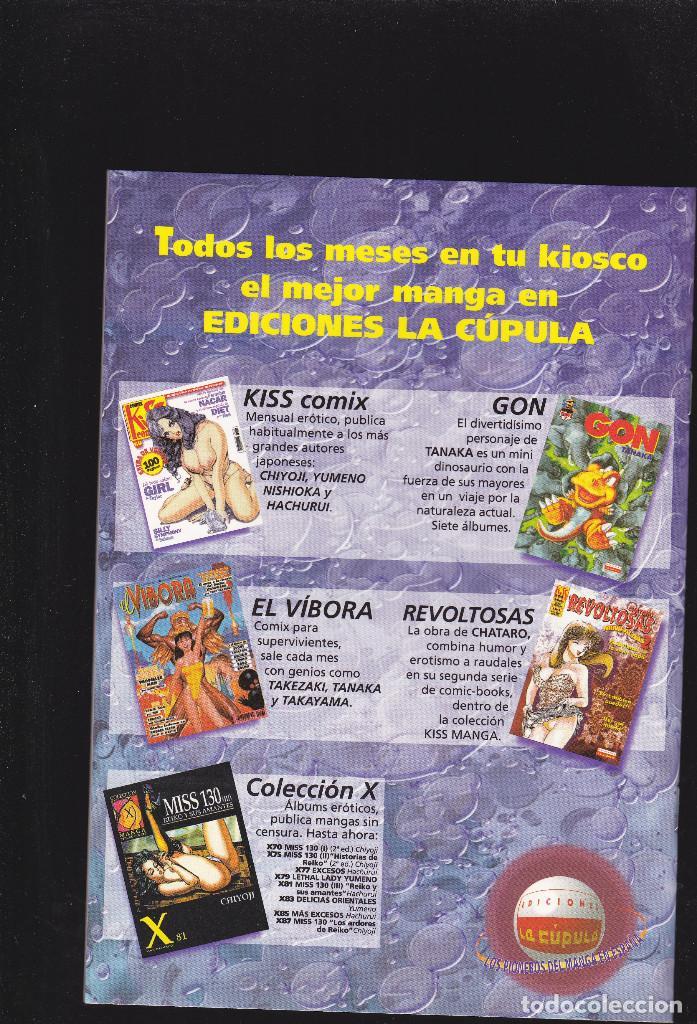 Cómics: PELLIZCOS - Nº 6 DE 7 - KISS MANGA - 52 PAGINAS - III-2001 - EDICIONES LA CÚPULA - - Foto 2 - 221915572