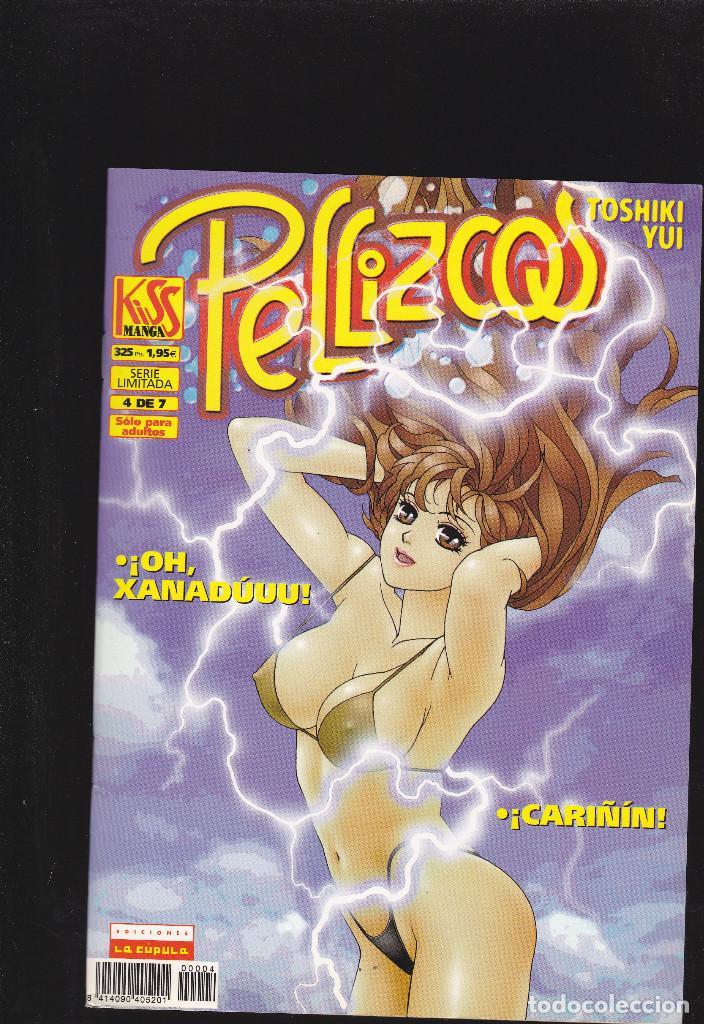PELLIZCOS - Nº 4 DE 7 - KISS MANGA - 52 PAGINAS - II-2001 - EDICIONES LA CÚPULA - (Tebeos y Comics - La Cúpula - Comic Europeo)