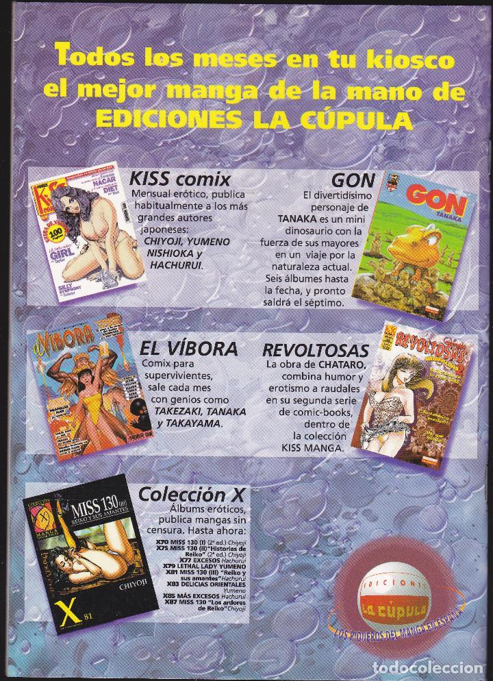 Cómics: PELLIZCOS - Nº 4 DE 7 - KISS MANGA - 52 PAGINAS - II-2001 - EDICIONES LA CÚPULA - - Foto 2 - 221960568