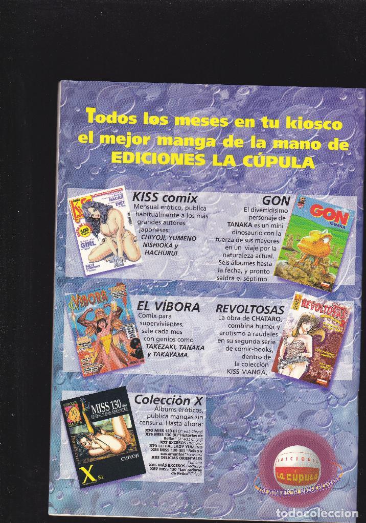 Cómics: PELLIZCOS - Nº 2 DE 7 - KISS MANGA - 52 PAGINAS - XII-2000 - EDICIONES LA CÚPULA - - Foto 2 - 221960896