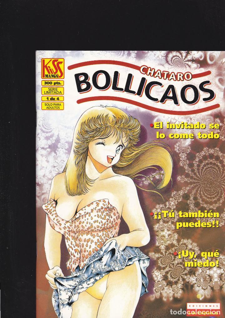 BOLLICAOS - Nº 1 - NUMERO RETIRADO DE LA VENTA - KISS MANGA - 52 PAGINAS - 1996? - LA CÚPULA - (Tebeos y Comics - La Cúpula - Comic Europeo)