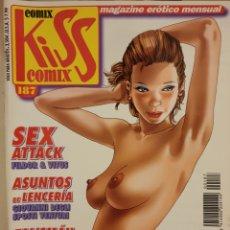 Cómics: KISS COMIX. MAGAZINE ERÓTICO MENSUAL. MAMAGRAF. Lote 221994312