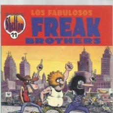 Cómics: OBRAS COMPLETAS SHELTON 11: LOS FABULOSOS FREAK BROTHERS, 1992, LA CÚPULA, MUY BUEN ESTADO. Lote 222005248