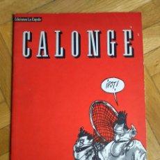 Cómics: CALONGE - DELIRIO GRÁFICO Nº 1. Lote 222066655
