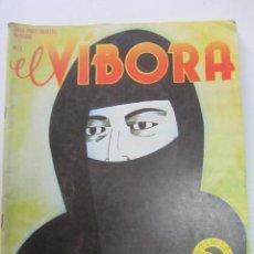 Cómics: EL VIBORA Nº 43 PONS, CARULLA, ONLIYU, CIFRE, MAGNUS, VEYRON, MAX, CARRATALA LA CUPULA CX74. Lote 222154968