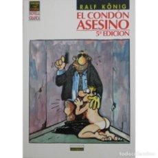 Cómics: EL CONDON ASESINO 5ª EDICION (RALF KONIG) LA CUPULA - BUEN ESTADO. Lote 222285052