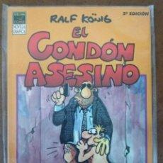 Cómics: EL CONDON ASESINO 2ª EDICION (RALF KONIG) LA CUPULA - BUEN ESTADO. Lote 222285100