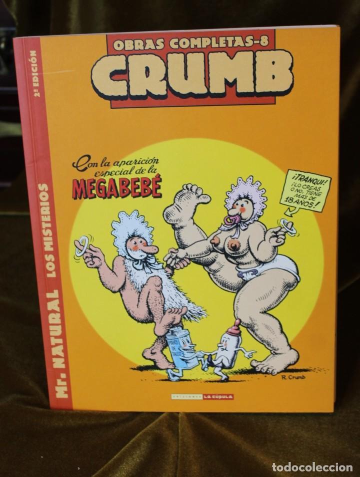 Cómics: Crumb, Obras completas, tomos 6, 7 y 8, M. Natural, 22 x 28 cm - Foto 2 - 222694371