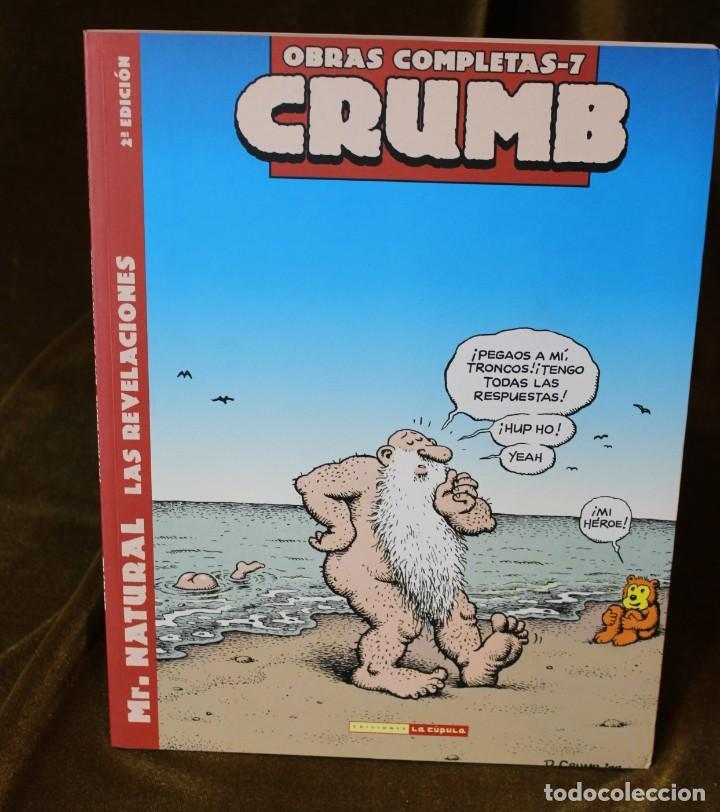 Cómics: Crumb, Obras completas, tomos 6, 7 y 8, M. Natural, 22 x 28 cm - Foto 3 - 222694371