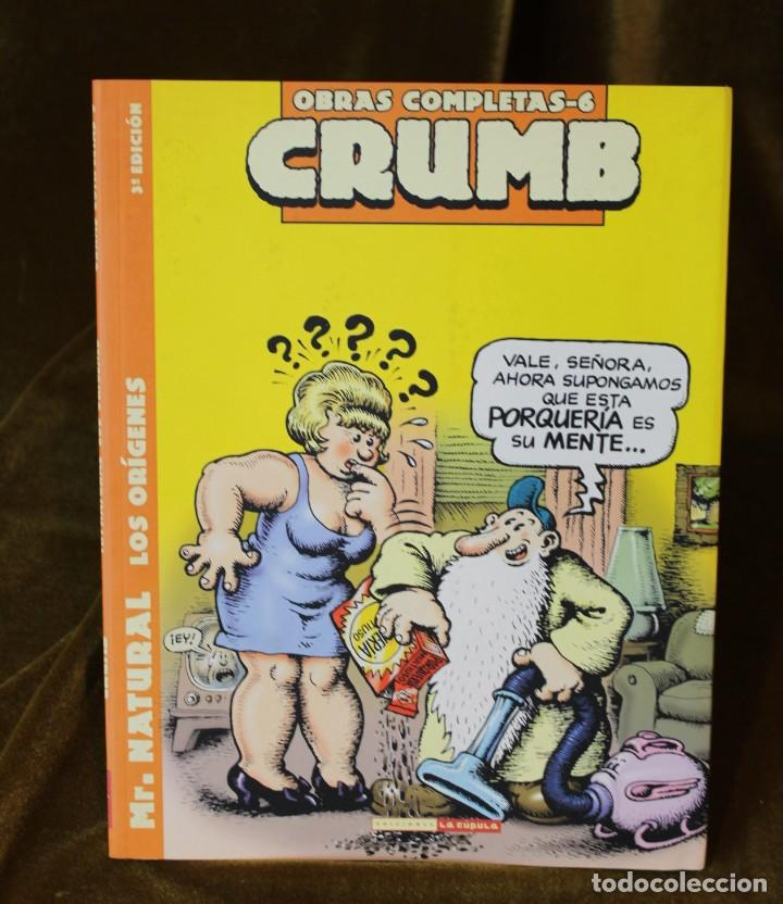 Cómics: Crumb, Obras completas, tomos 6, 7 y 8, M. Natural, 22 x 28 cm - Foto 4 - 222694371