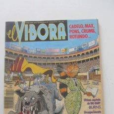Comics: EL VÍBORA Nº 122. VARIOS AUTORES. REVISTA. LA CÚPULA ARX10. Lote 223728270