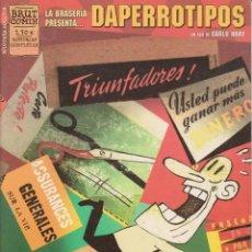 Cómics: DAPERROTIPOS (CARLO HART) LA CUPULA - IMPECABLE - OFM15. Lote 224180296