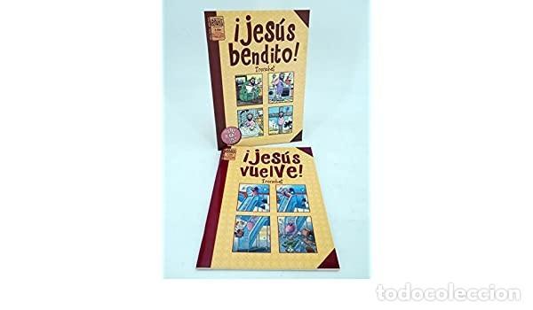 JESUS BENDITO Y JESUS VUELVE (COMPLETA) (TRONCHET) LA CUPULA - IMPECABLE - OFM15 (Tebeos y Comics - La Cúpula - Comic Europeo)
