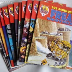 Comics : LOS FABULOSOS FREAK BROTHERS. EL GATO DE FAT FREDDY. NOT QUITE DEAD. LOTE DE 12 NÚMEROS.. Lote 224619936