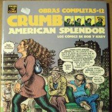 Fumetti: AMERICAN SPLENDOR - ROBERT CRUMB & HARVEY PEKAR. Lote 225233675