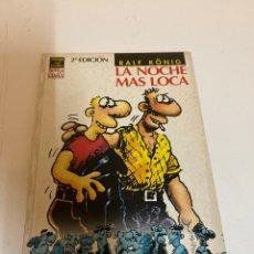 Cómics: LA NOCHE MAS LOCA. Lote 226362108