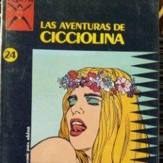 Comics : COLECCIÓN X Nº 24: LAS AVENTURAS DE CICCIOLINA / FILIPPUCCI / ROMANINI / UBALDI. Lote 226829770