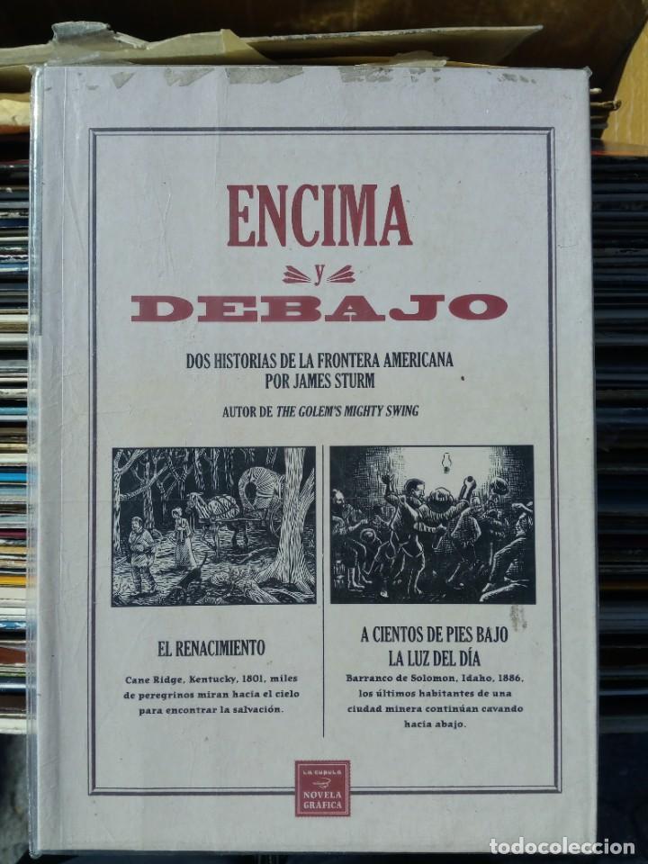 ENCIMA Y DEBAJO - JAMES STURM (EDICIÓN LA CÚPULA) (Tebeos y Comics - La Cúpula - Comic USA)