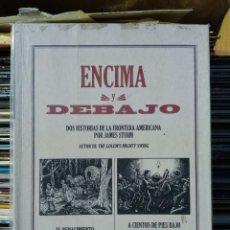 Cómics: ENCIMA Y DEBAJO - JAMES STURM (EDICIÓN LA CÚPULA). Lote 226967895