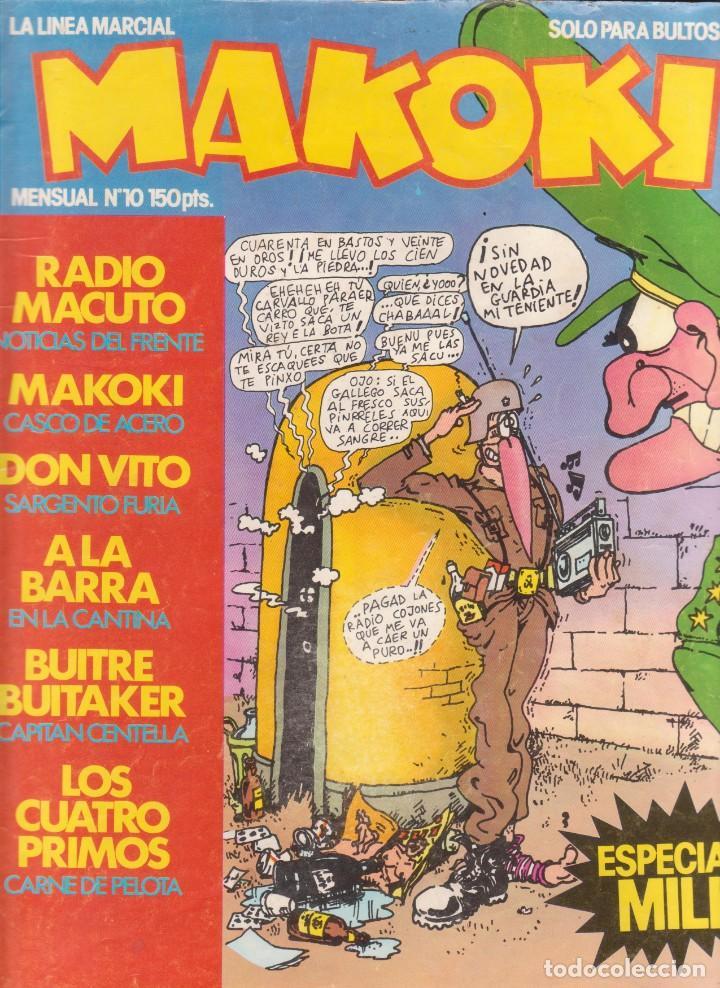 COMIC MAKOKI Nº 10 ESPECIAL MILI (1983) ED. LA CÚPULA (Tebeos y Comics - La Cúpula - Autores Españoles)