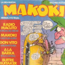 Cómics: COMIC MAKOKI Nº 10 ESPECIAL MILI (1983) ED. LA CÚPULA. Lote 227097914