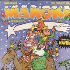 "Cómics: COMIC MAKOKI NºS 12 - 13 ""ESPECIAL NAVIDÁ"" (1983) ED. LA CÚPULA. Lote 227098020"