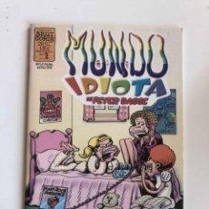 Cómics: PETER BAGGE'S - MUNDO IDIOTA Nº 7 - BRUT COMIX - EDICIONES LA CÚPULA. Lote 227464836
