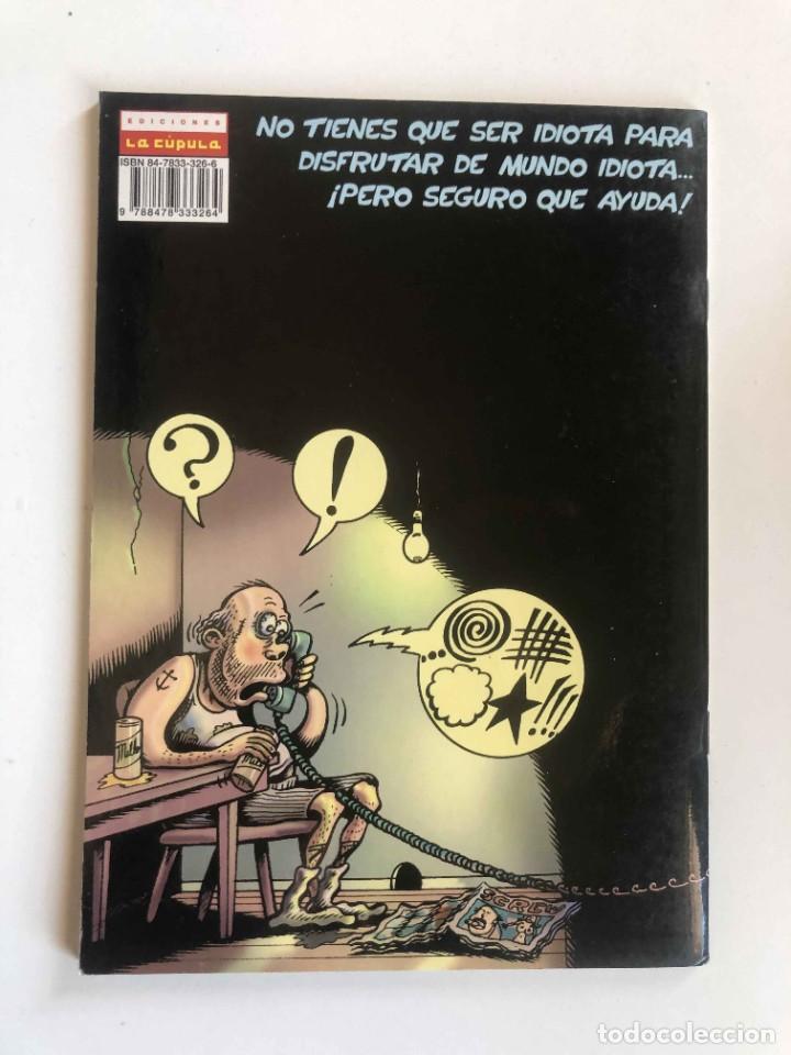 Cómics: PETER BAGGES - MUNDO IDIOTA Nº 7 - BRUT COMIX - EDICIONES LA CÚPULA - Foto 2 - 227464836