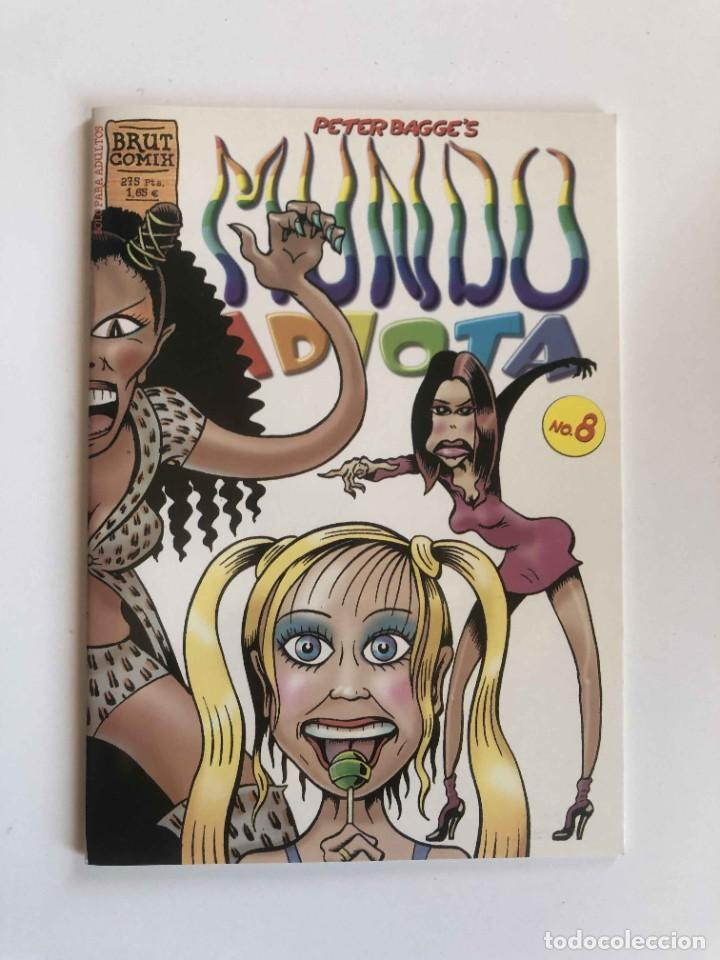PETER BAGGE'S - MUNDO IDIOTA Nº 8 - BRUT COMIX - EDICIONES LA CÚPULA (Tebeos y Comics - La Cúpula - Comic USA)