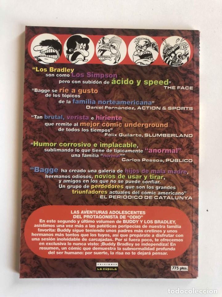 Cómics: BUDDY Y LOS BRALEY - LA TRIBU DE LOS BRADLEY - PETER BAGGE VIBORA COMIX - EDICIONES LA CUPULA - Foto 2 - 227467565