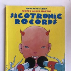 Comics: SICOTRONIC RECORDS - MIGUEL ANGEL MARTIN- SUBTERFUGE RECORDS. Lote 227473465