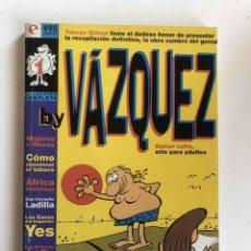 Cómics: BY VAZQUEZ . TOMO RECOPILATORIO 6 EJEMPLARES. COLECCIÓN COMPLETA. GLENAT, 1995. Lote 227473840