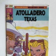 Comics : ATOLLADERO TEXAS- MIGUEL ANGEL MARTIN -EDICIONES GLENAT. Lote 227491490