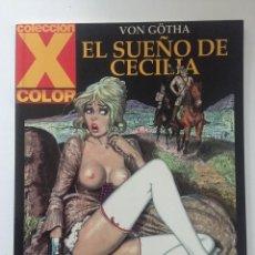 Cómics: EL SUEÑO DE CECILIA - COLECCION X Nº 117 - 1ª EDICION - LA CÚPULA - 2004 - ¡NUEVO!. Lote 227675075