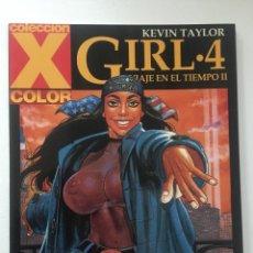 Cómics: GIRL 4 - VIAJE EN EL TIEMPO II - COLECCION X Nº 118 - 1ª EDICION - LA CÚPULA - 2005 - ¡NUEVO!. Lote 227692550