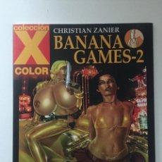 Cómics: BANANA GAMES 2 - COLECCION X Nº 127 - 1ª EDICION - LA CÚPULA - 2007 - ¡NUEVO!. Lote 227697340