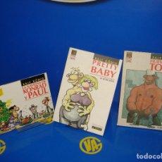 Cómics: LOTE DE TRES COMICS RALF KONIG VIBORA COMIX BUEN ESTADO. Lote 227785290