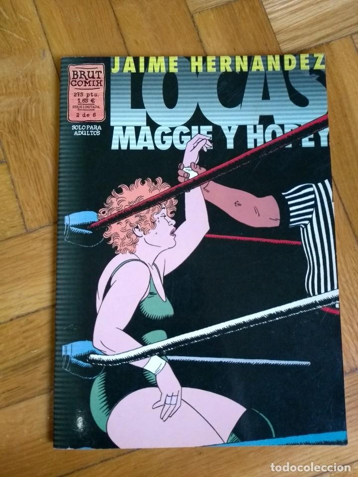 LOCAS MAGGIE Y HOPEY - JAIME HERNANDEZ - 2 DE 6 (Tebeos y Comics - La Cúpula - Comic USA)