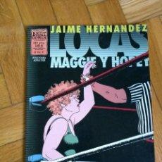 Cómics: LOCAS MAGGIE Y HOPEY - JAIME HERNANDEZ - 2 DE 6. Lote 228256285
